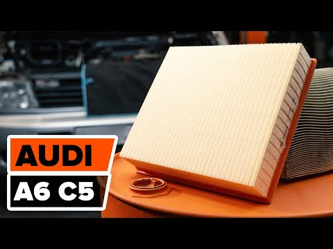 How To Replace Air Filter On Audi A6 C5 Tutorial Autodoc