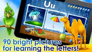 ABC for kids – learn Alphabet Preschool educational Android İos Free Game VİDEO PART 1