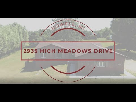 New Listing: 2935 High Meadows Drive