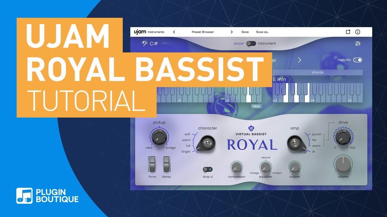 Making Reggae Basslines   Royal Virtual Bassist by UJAM   Tutorial