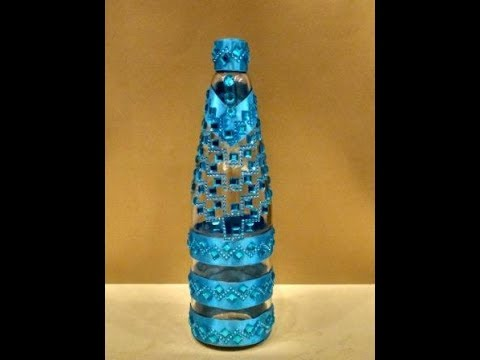 Decorate waste bottle || Best out of waste || Room ...