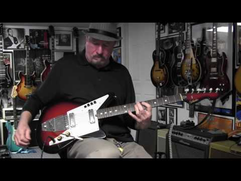 1960s Galanti Grand Prix Guitar Demo