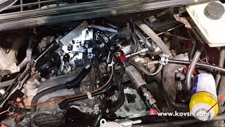 Не рабочий термостат — причина расхода топлива в зимнее время, Mercedes Benz Vito W639 2.1d OM646