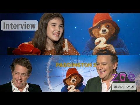"Zoe at the Movies: ""Paddington 2"" Hugh Grant & Hugh Bonneville INTERVIEW"