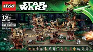 10236 Ewok Village LEGO Star Wars (complete Instruction Booklet)