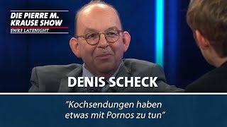 Denis Scheck über Pornografie und Kochbücher