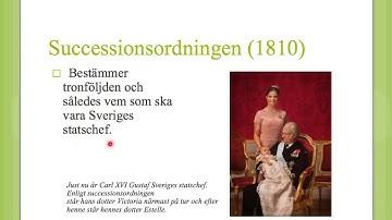 Så styrs Sverige 001 - Grundlagarna