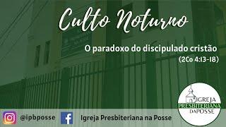 CULTO NOTURNO - 06.06.21
