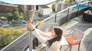 Видео обзор уличный газовый инфракрасный обогреватель Enders серии Wood