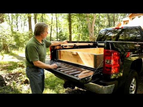 A Sliding Dump Bed Makes Unloading Gravel Fast and Easy