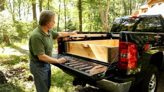A Sliding Dump Bed Makes Unloading Gravel Fast and Easy