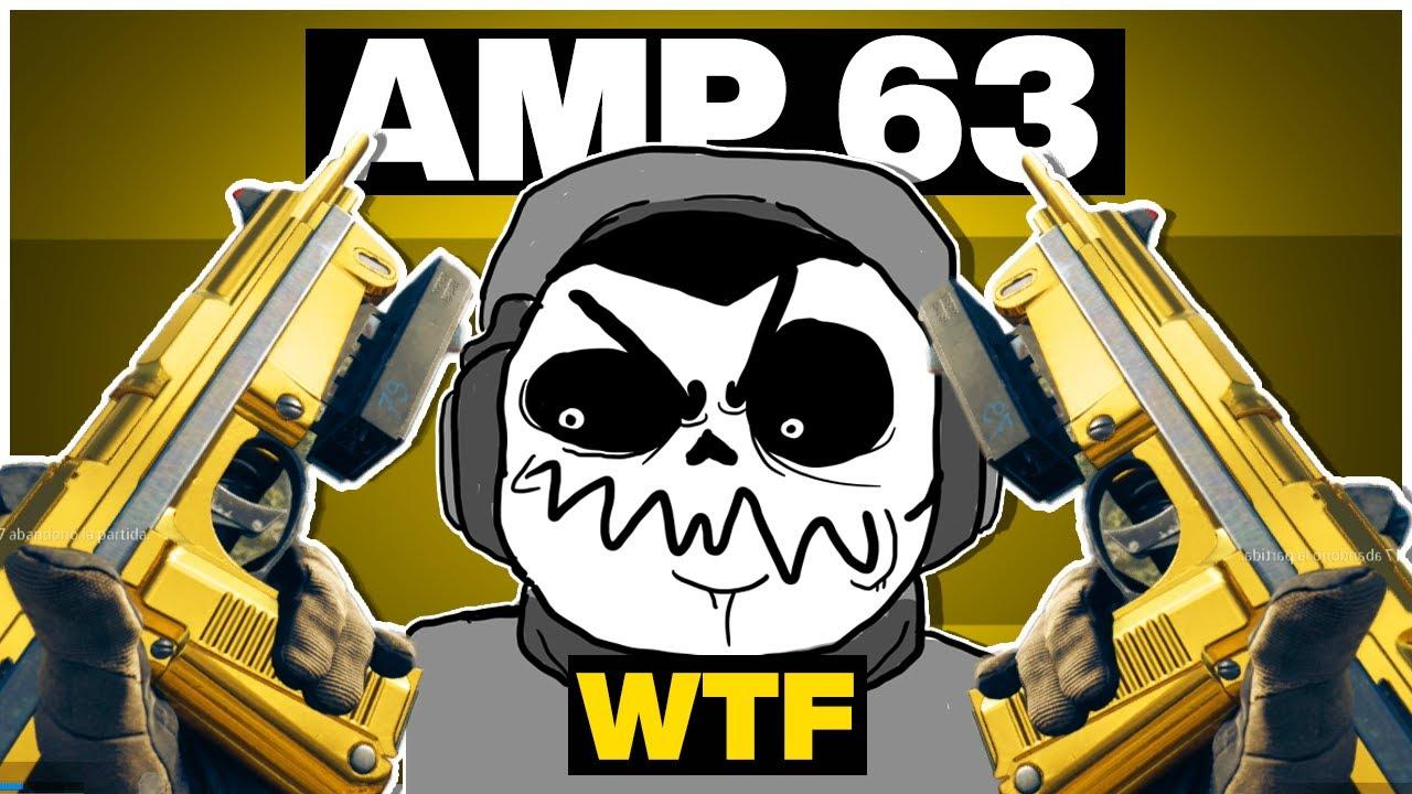 No me gusta la AMP 63 en Warzone