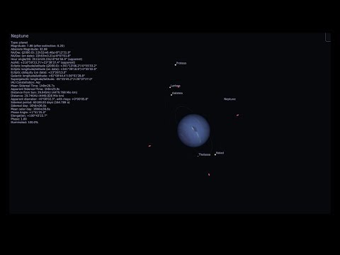 Uranus and Neptune through my Telescope