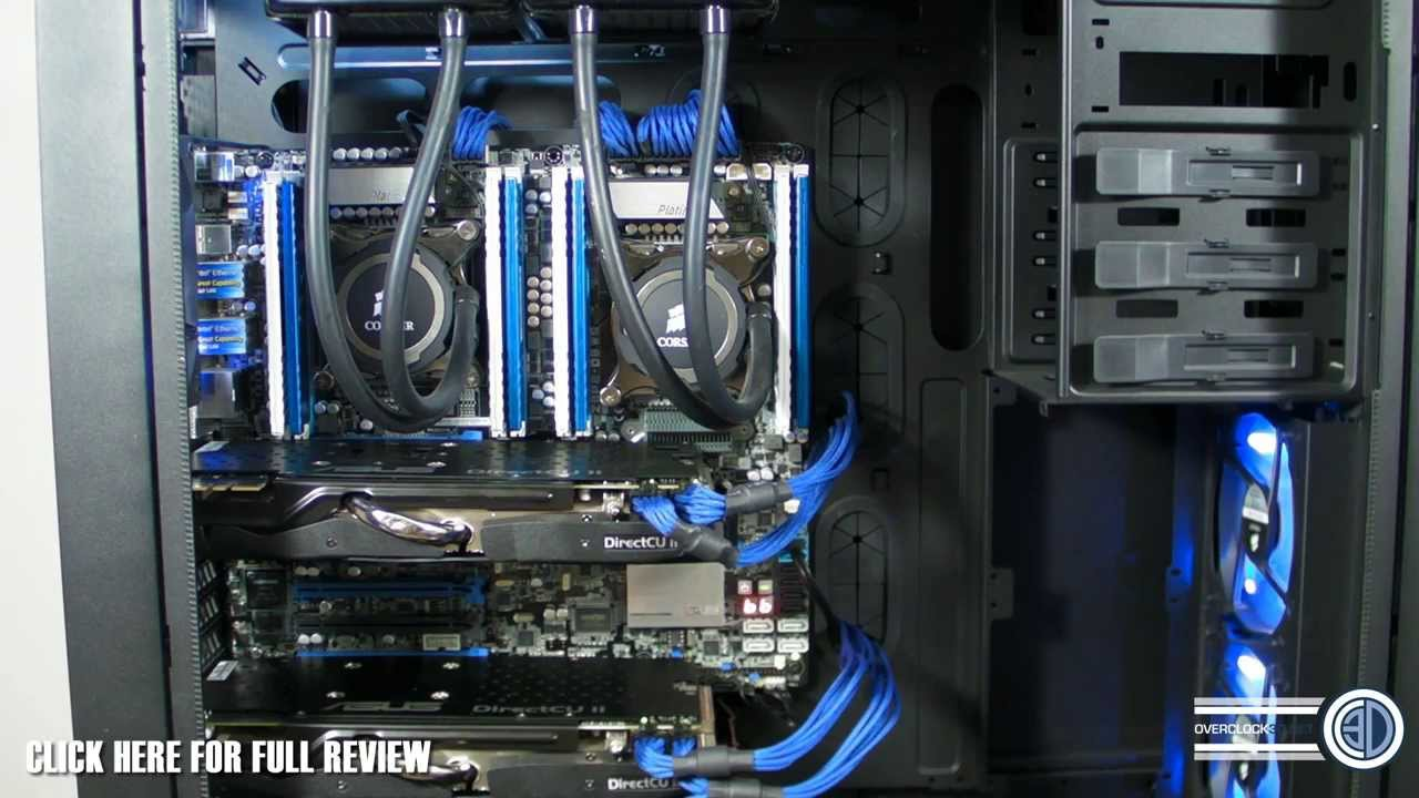 Intel Xeon 2697 V2 24 Core Monster System Youtube