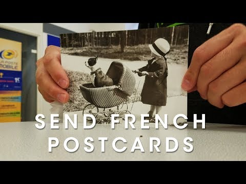 How To Buy Postcard Stamps In France