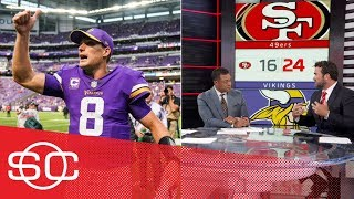 NFL Analysis: Kirk Cousins impresses in Minnesota Vikings' win over 49ers | SportsCenter | ESPN
