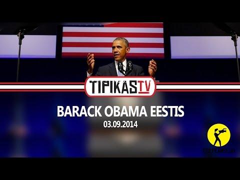Barack Obama Eesti visiit | Tipikas.TV uudised | 03.09.2014
