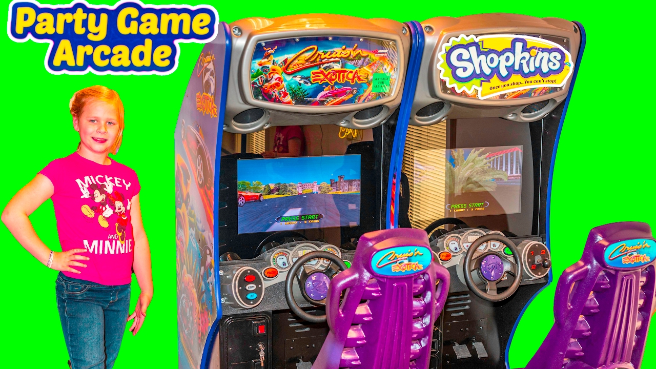 What is the Assistant's Favorite Arcade Game Is it Air Hockey, Pinball or Driving?
