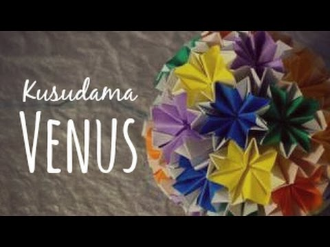 Origami Ball Kusudama Venus Instructions How To Make One Piece