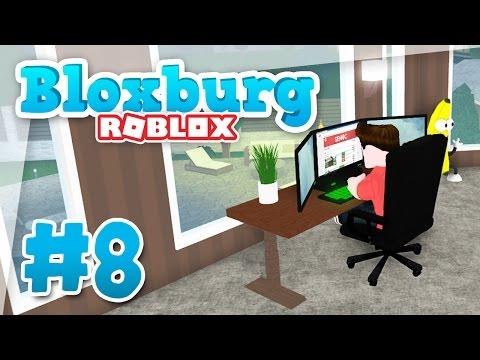Bloxburg #8 - EPIC GAMING ROOM (Roblox Welcome to Bloxburg)