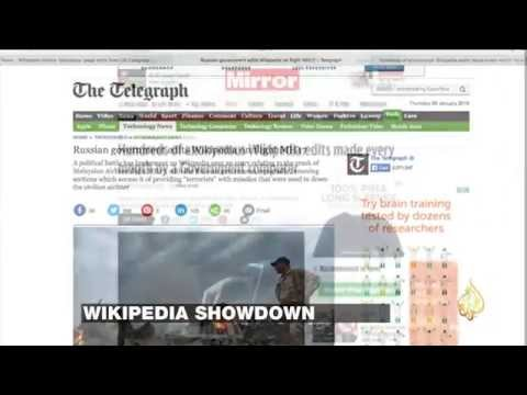 Wikipedia Unveils U.S., Russia & U.K. Heavily Involved In Censoring Wiki Pages