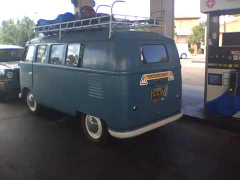 1954 Barn Door VW Bus - YouTube