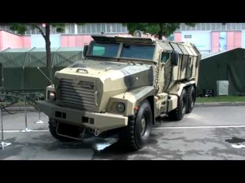 Бронеавтомобиль Урал 63099 семейства «Тайфун»   URAL TYPHOON 63099 MRAP