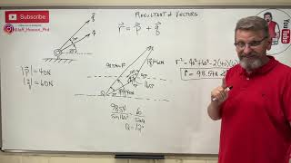 Statics: Lesson 4- Vector Addition, Triangle Rule, and Cartesian and Vector Notation