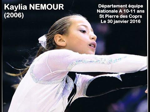 Kaylia NEMOUR (2006) Dept Equipe Nationale A
