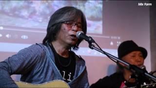 Live@Com.Cafe音倉 ☆Feb/24/2017 ☆長井オサム(vo.g)/田中章(g)/小川ヒロ...