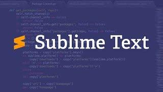 Новый Sublime Text 3 + Лицензия (ключ)