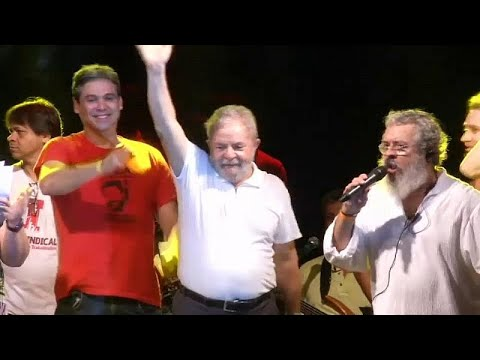 Brazil's Lula nominated for president from jail