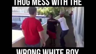 PETTY THUG VS CRAZY WHITE BOY