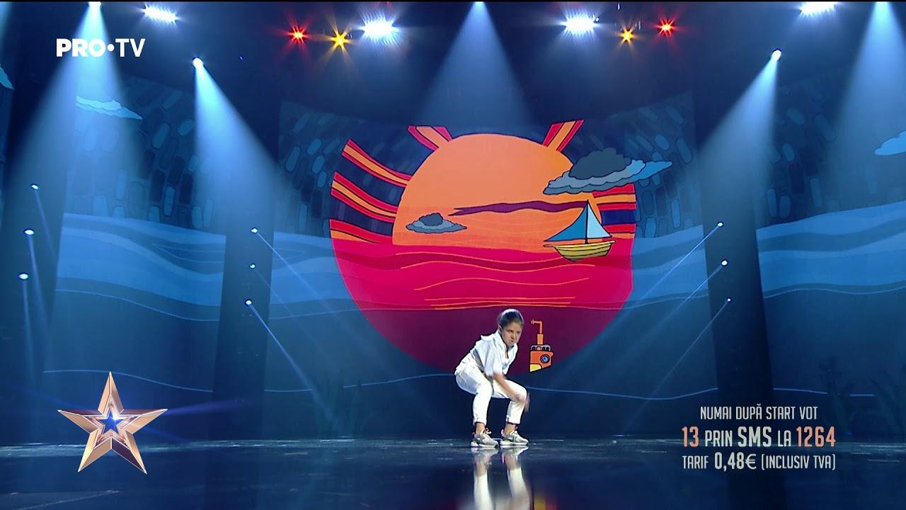 Fascinant ce simț ritmic are și ce show suprem face   Aris Negoiță - Românii au Talent