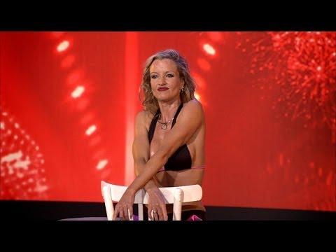 Verbrandingsgevaar! Els brengt super hete striptease | Belgium's Got Talent | VTM - YouTube
