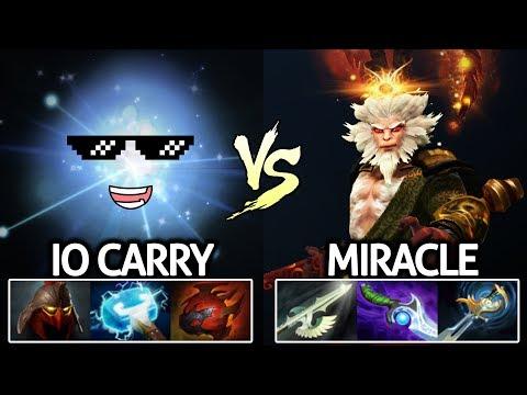Miracle- Monkey King VS IO Right Click Build Epic Game 7.21 Dota 2 thumbnail