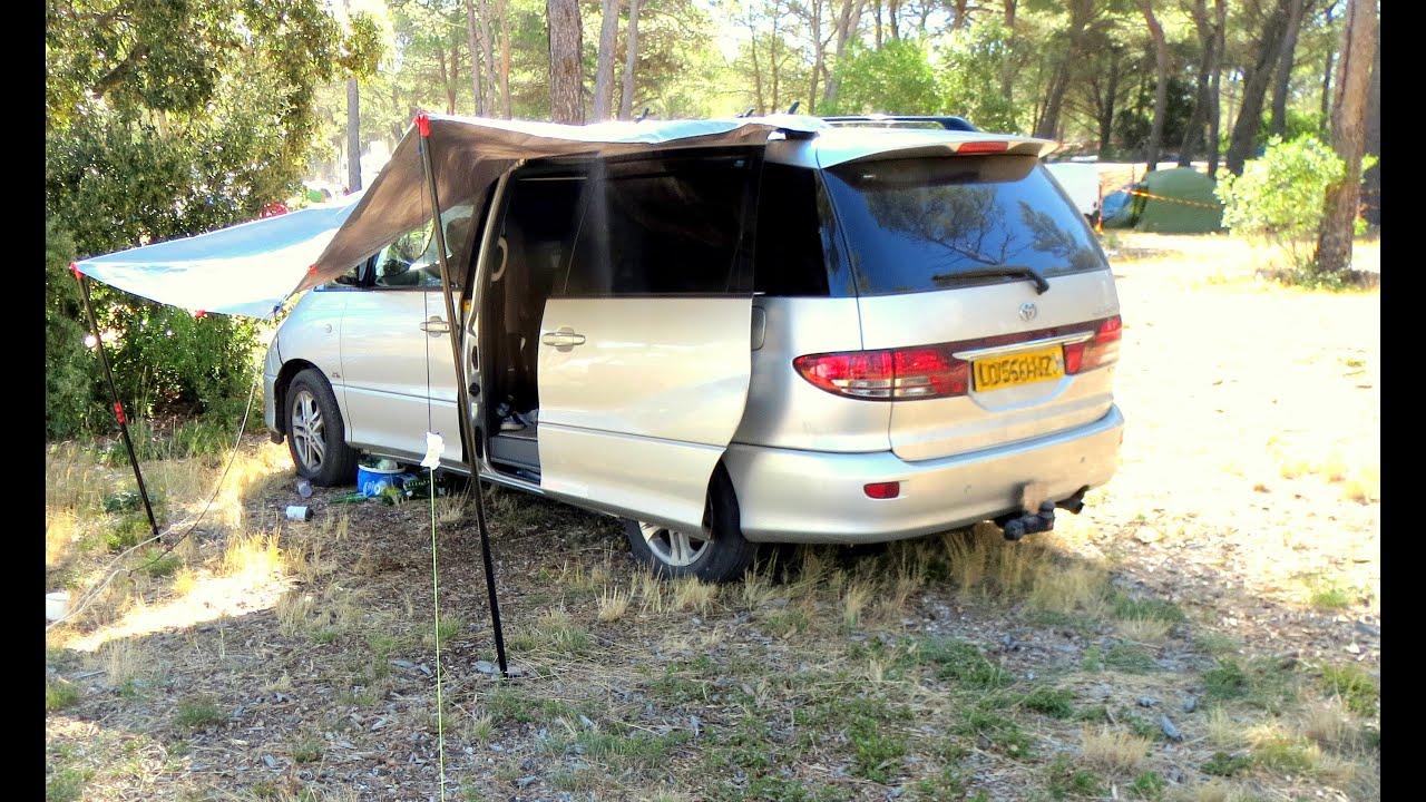 Stealth Camper Van Shower