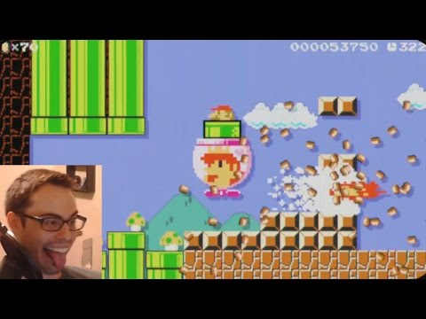 Mario Maker - One Year Anniversary! Celebrate w/ Awesome Levels, Trolls, Rage, Science, and Love ❤