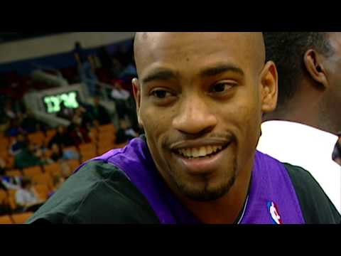 Young Vince Carter & T-Mac in AWESOME Dunk Contest | RARE FOOTAGE