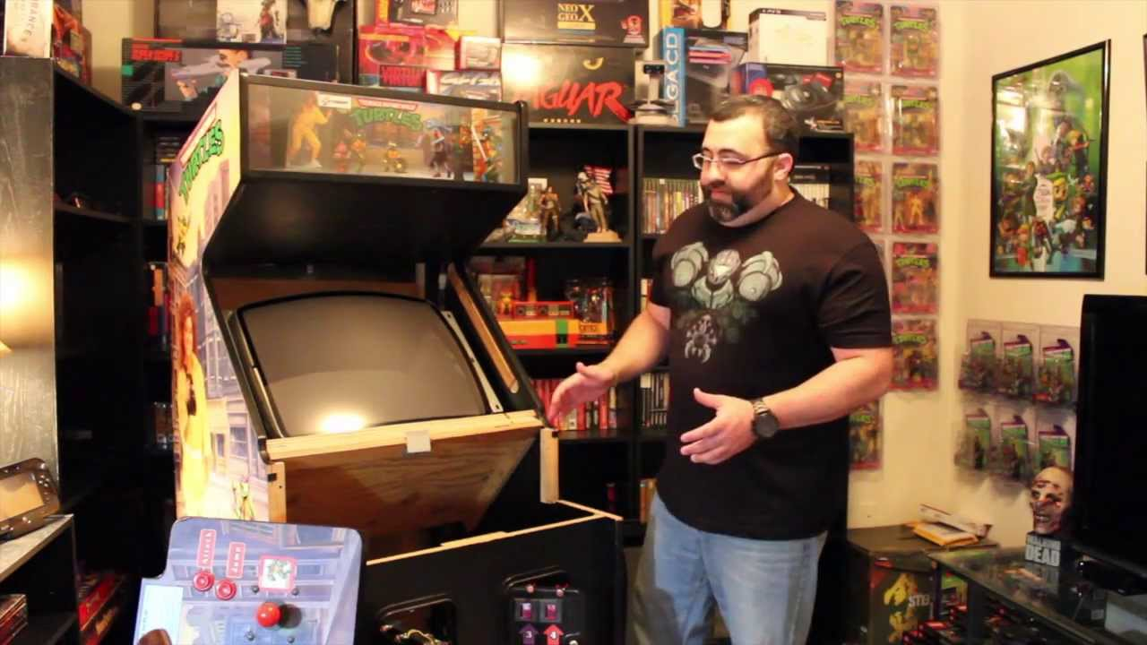 Episode 1: Teenage Mutant Ninja Turtle Arcade Cabinet - YouTube