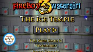 Fireboy And Watergirl   The Ice Temple (full Game)