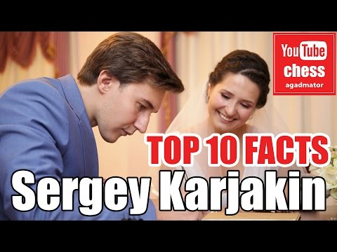 Top 10 facts about Sergey Karjakin