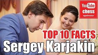 Top 10 facts about Sergey Karjakin