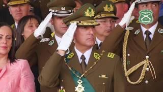 Ceremonia de Asunción al Mando del General Director de Carabineros de Chile Mario Rozas