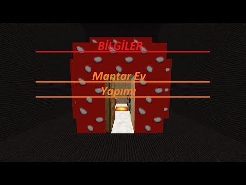 Minecraft - Mantar Ev Yapımı
