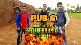 PUBG In Real Life Part-1| BattleGround | Kaif Khan HK TV