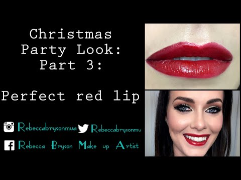 HOW TO: The perfect Red Lip