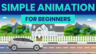 Animation process | Easy 2D Animation | Adobe Illustrator and After effects
