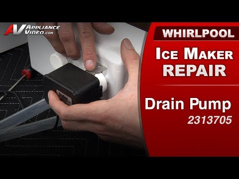 ice-maker-repair--drain-pump---commercial-&-household-refrigerator---diagnostic-&-repair