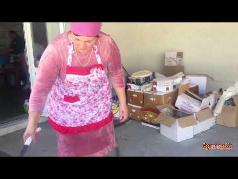 Осетинская свадьба  Как делают Осетинские пироги